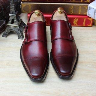 Buy cheap SKP89 Custom Handmade Goodyear Calf Leather Italian Solid from Wholesalers