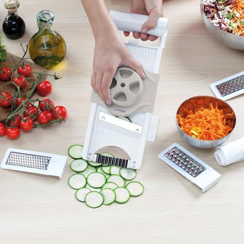 China 4 In 1 Adjustable Mandoline Slicer,Food Chopper Mandoline Slicer Grater Set on sale