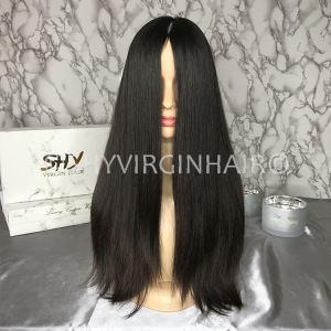 Buy cheap Custom Made Kosher Human Hair Wig Orthodox Jewish Wig Manufacturers from Wholesalers
