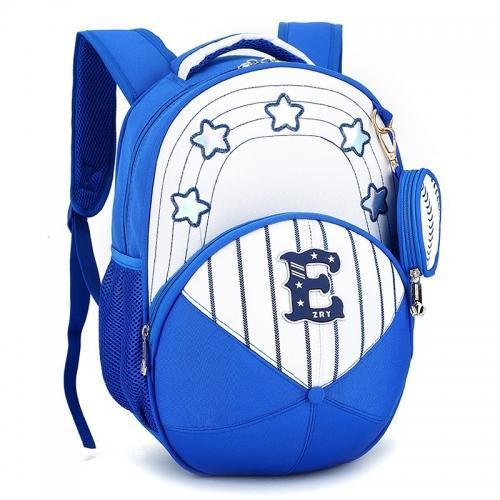 excellent quality 40 hight nylon cute kids 3D cap shape design kids school backpack