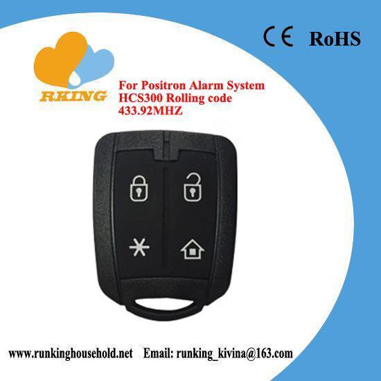 Buy cheap brazil positron alarm system,folding remote key, 433.92Mhz from Wholesalers