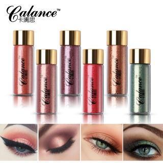 China Calance Brand Shimmer Glitter Eyeshadow Powder Makeup Brighten Mermaid Pigment Mineral Loose on sale