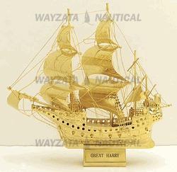 "Buy cheap Model Ships 6"" Great Harry Man of War Model Ship from Wholesalers"