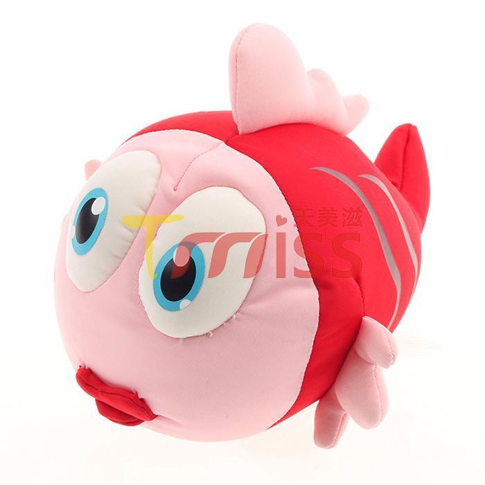 China Water Animal Colorful kids Magic plush toys novelty toys stuffed plush fish on sale