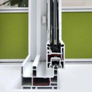 Buy cheap 88mm Sliding Series UPVC Glass Windows Frames Profiles from Wholesalers