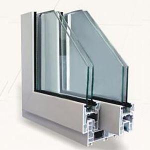 Buy cheap 80mm Sliding Series Upvc Plastic Window Frames Profiles from Wholesalers