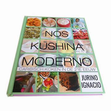 Luxury Custom Full Color Hardcover Cookbook Printing