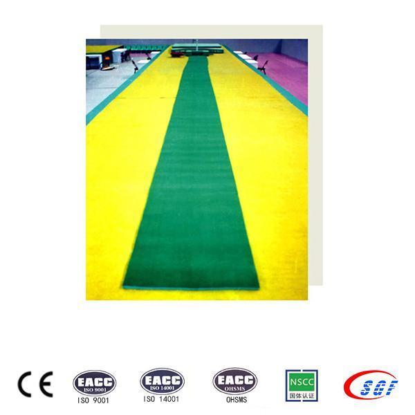 Buy cheap High grade carpet EVA material gymnastics Vaulting Runway from Wholesalers