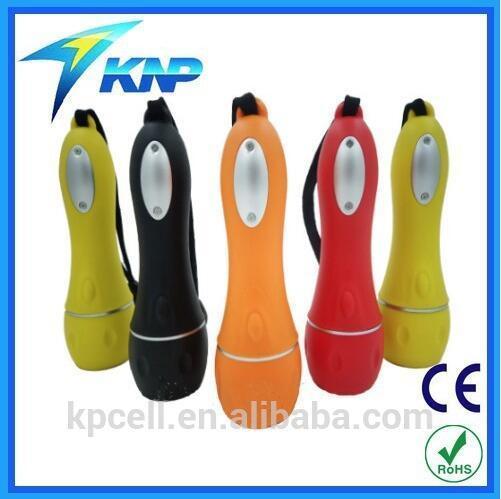 China Promotional Hot Plastic LED Flashlight with 3 LED on sale