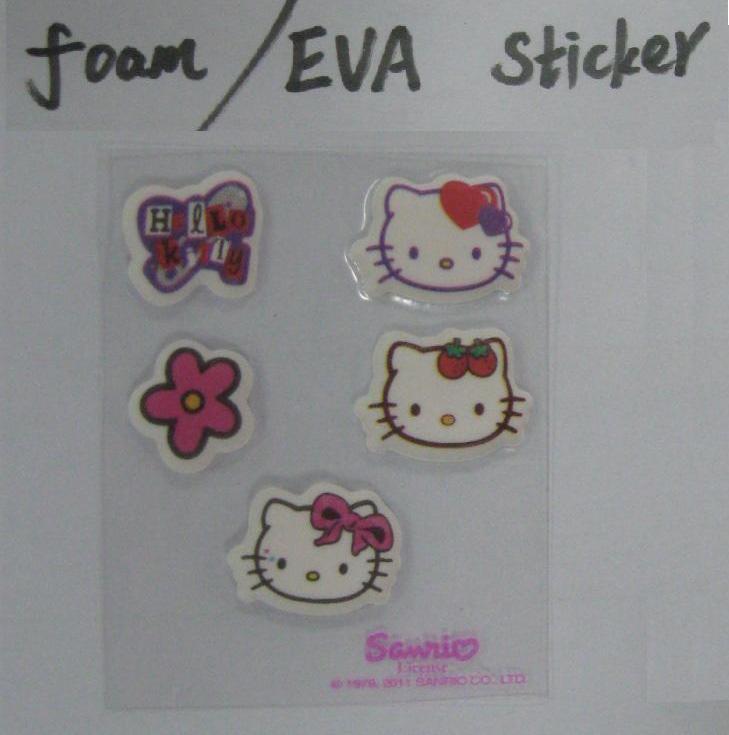 China Foam or EVA sticker on sale