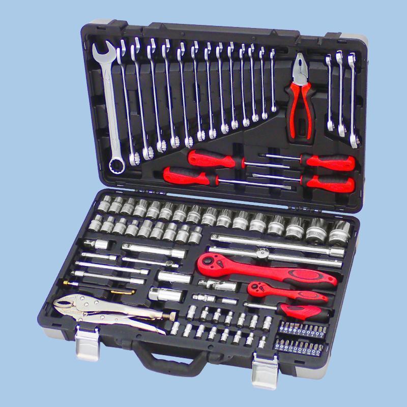 "Buy cheap Draco Series- 101pcs 1/4"" & 1/2"" Dr. Socket & Tool Set from Wholesalers"