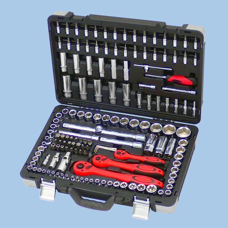 "Buy cheap Draco Series- 151pcs 1/4"", 3/8"" & 1/2"" Dr. Socket Set from Wholesalers"