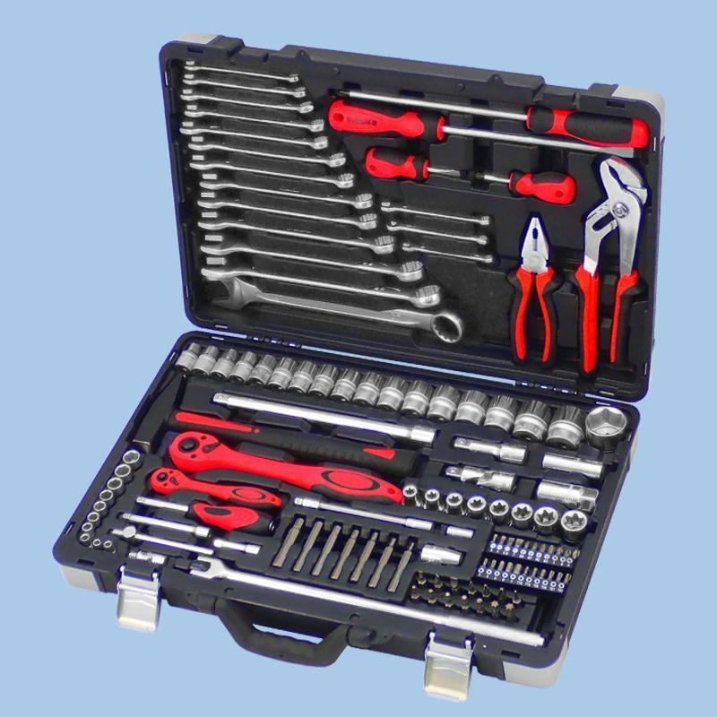 "Buy cheap Draco Series- 119pcs 1/4"" & 1/2"" Dr. Socket & Tool Set from Wholesalers"