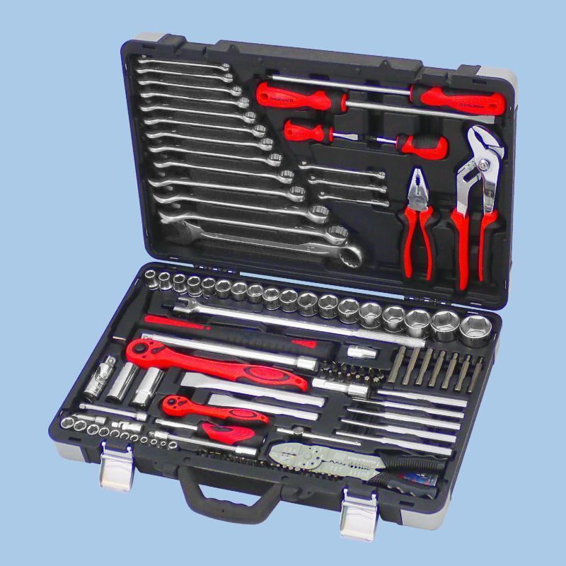 "Buy cheap Draco Series- 145pcs 1/4"" & 1/2"" Dr. Socket & Tool Set from Wholesalers"