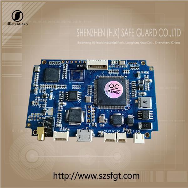 Buy cheap 720P COFDM PCB Board SD COFDM modulation board from Wholesalers