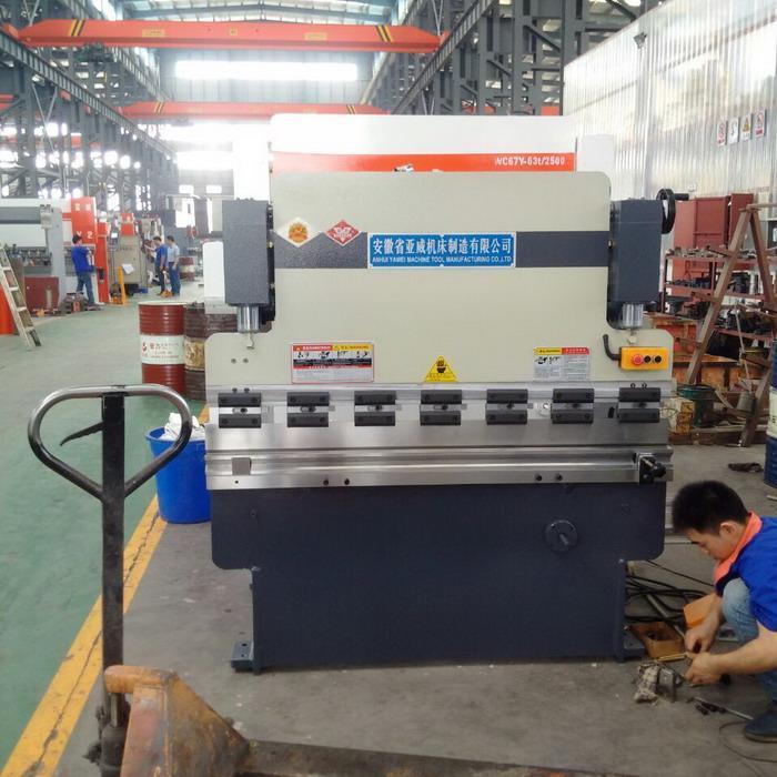 Buy cheap 30T NC Hydraulic Mini Press Brake Machines from Wholesalers