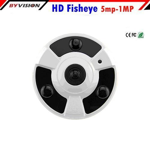 180 Degree Fisheye IP Camera