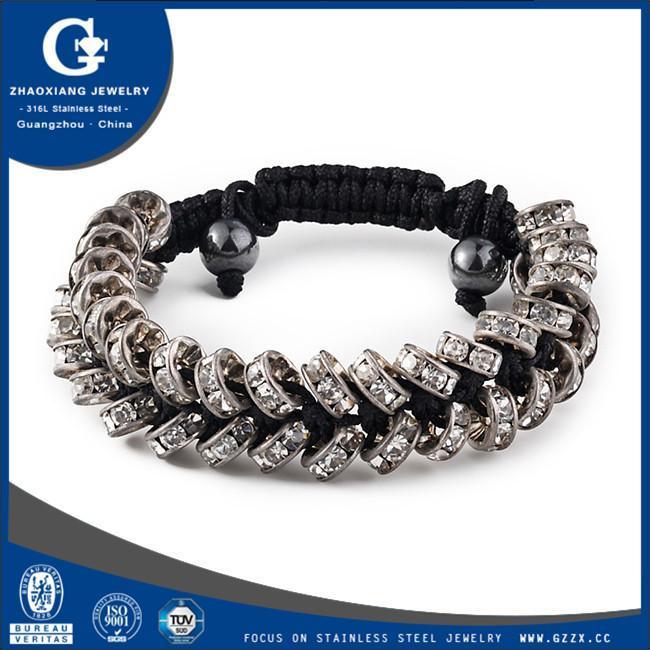 China 2015 latest real 18k gold austrian crystal bracelet B010 on sale