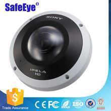 SONY SNC-HM662 360-degree Hemispheric-view Panorama fisheye Camera with a 5-megapixel CMOS Sensor