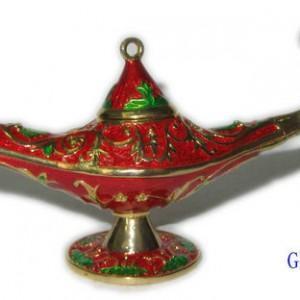 China Top sale indian gift Aladdin lamp jewelry box trinket box wholesale on sale