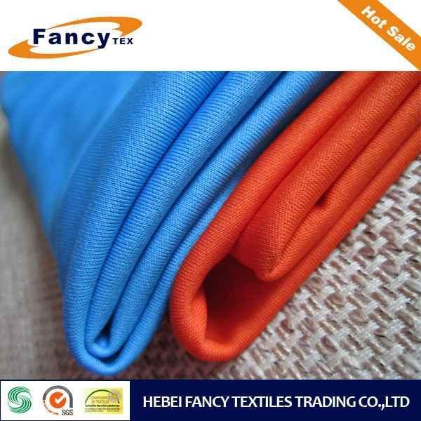 China Knit Fabric 100% Poly Interlock Knitting Fabric on sale