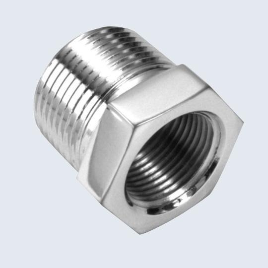 Buy cheap CNC Machining Aluminum Hex Head Bushing Nut Bolt from Wholesalers
