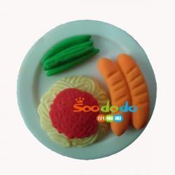 Buy cheap Food Eraser 3D Sausage Shaped fancy food Eraser from Wholesalers