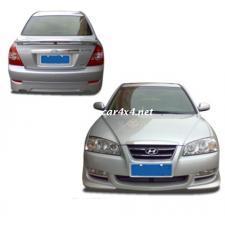 Buy cheap Body Kit & Airbag Cover HY155-FRP Bodykit For Hyundai Elantra 07 4pcs from Wholesalers