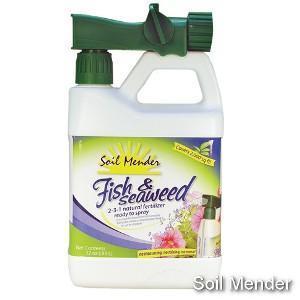 China Soil Mender Fish & Seaweed Natural Fertilizer 1 qt R-T-S on sale