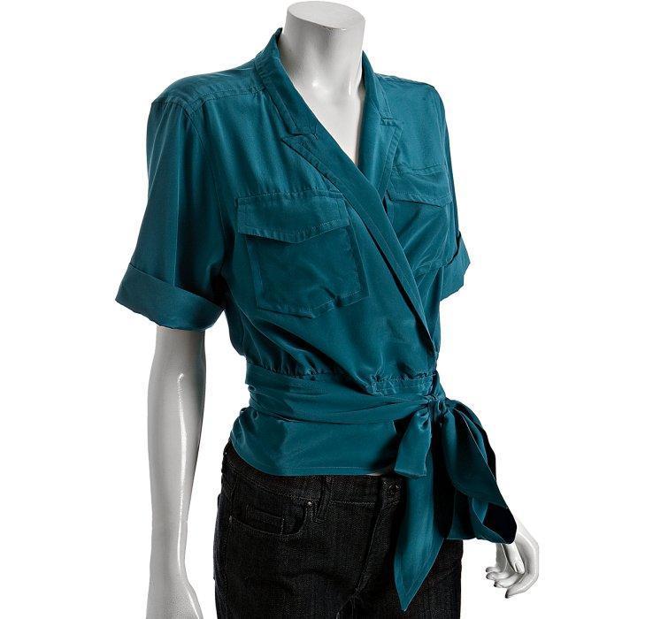 Blouses & Shirts Wrap tie blouses