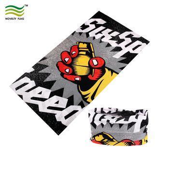 Free Design Microfiber Polyester Seamless Face Mask Tube Bandana