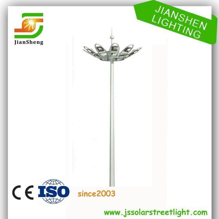China 30m Hot Dip Galvanized High Mast Lighting Pole on sale