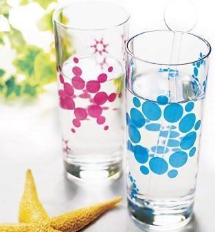 Glass series 4 Colors Printing Item No.4 Colors Printing