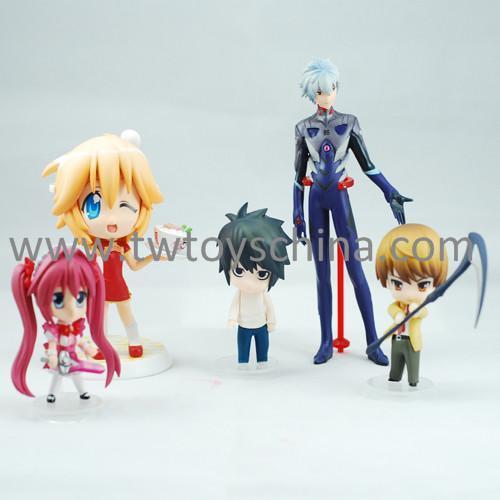 Vinyl Figures Set Anime Figure Toys