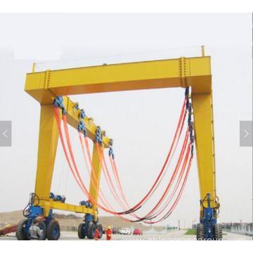 Shipyard Gantry Crane Dock Boat Lifting Equipment Yacht Crane Machine