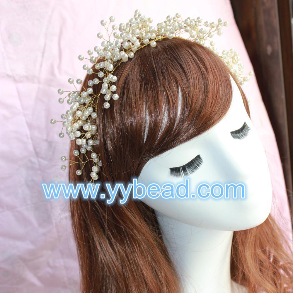 Buy cheap Wedding Beaded Crown-XFD hot-sale women crystal beaded tiaras crown pattern from Wholesalers