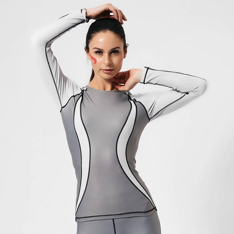 Buy cheap Sweatshirt Long yoga sports sweatshirts shirts GRC16004 from Wholesalers
