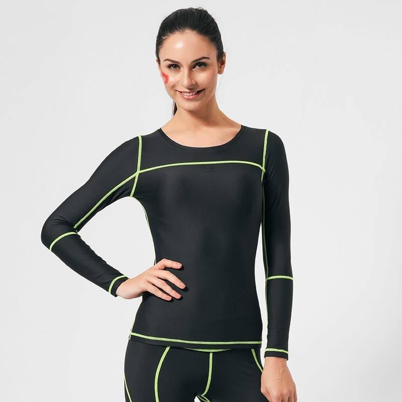 Buy cheap Sweatshirt Long sleeve running compression shirts women GRC16002 from Wholesalers