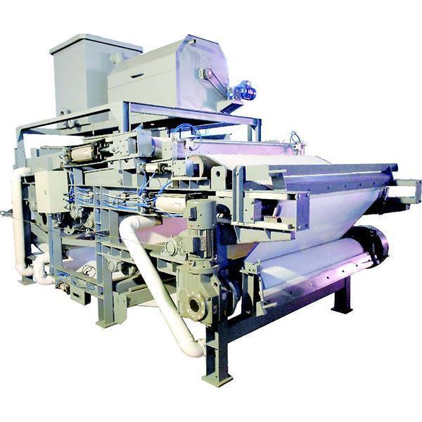 Buy cheap Filter Equipment Heavy Cast Iron Belt Sludge Dehydrator from Wholesalers