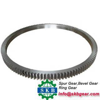 China gear ring gear disc for daewoo hyundai on sale