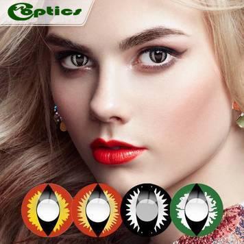 China Big Eye Color Lens Cosplay Cat Eye Lenses Manufacturer on sale