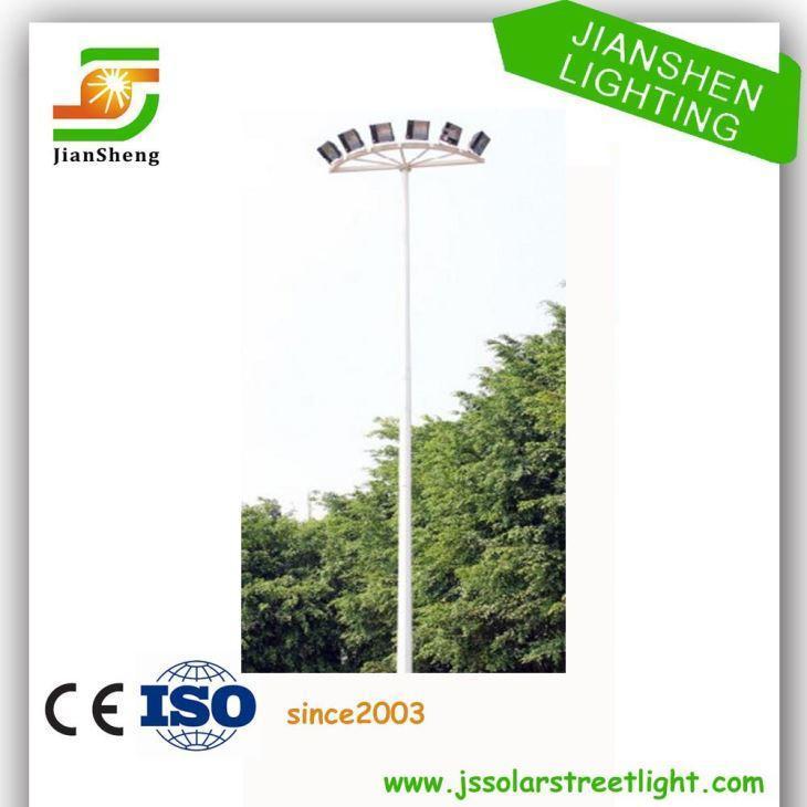 China 25 Years Warranty High Mast Lighting Steel Pole Price on sale
