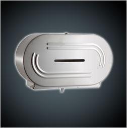 China Washroom Accessories SB-494 Twin Jumbo Roll Double Toilet Paper Dispenser on sale